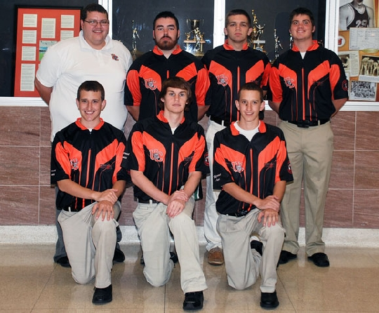 2011-12 Men's Bowling Team Photo