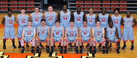 2012-13 Men's Basketball Team Photo