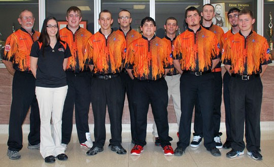 2012-13 Men's Bowling Team Photo