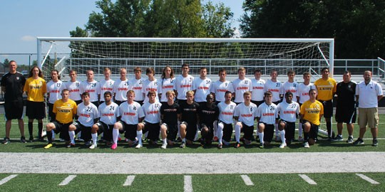 2012 Men's Soccer Team Photo