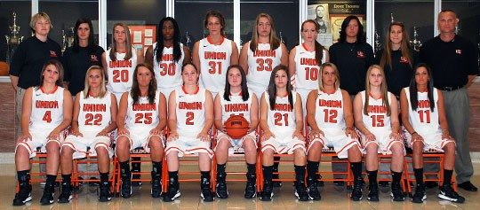 2012-13 Women's Basketball Team Photo