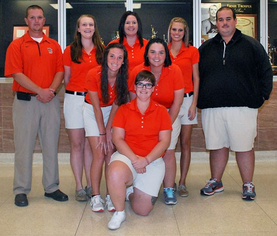 2013 Women's Golf Team Photo