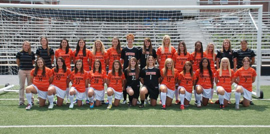 2012 Women's Soccer Team Photo