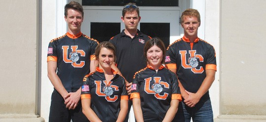 2013-14 Cycling Team Photo