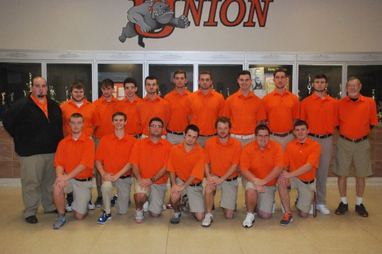 2014 Men's Golf Team Photo