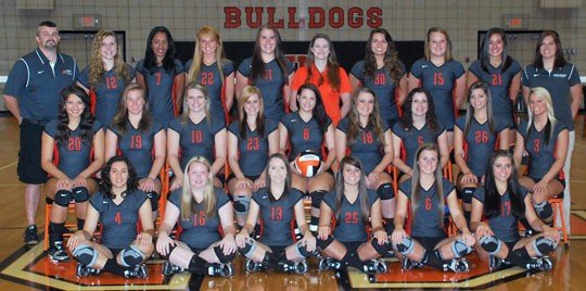 2013 Volleyball Team Photo
