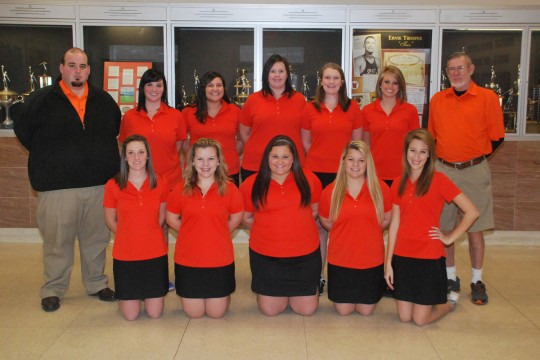 2014 Women's Golf Team Photo