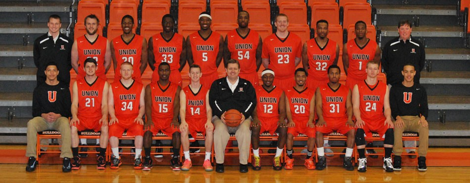 2014-15 Men's Basketball Team Photo