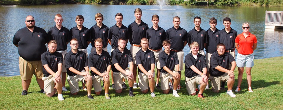 2015 Men's Golf Team Photo