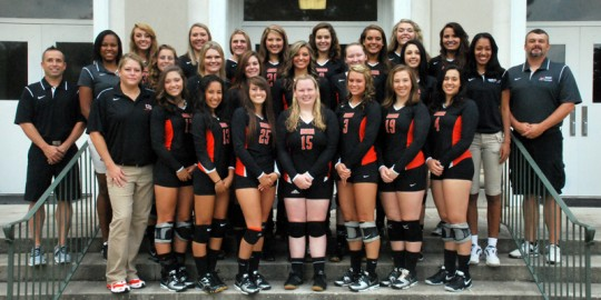 2014 Volleyball Team Photo