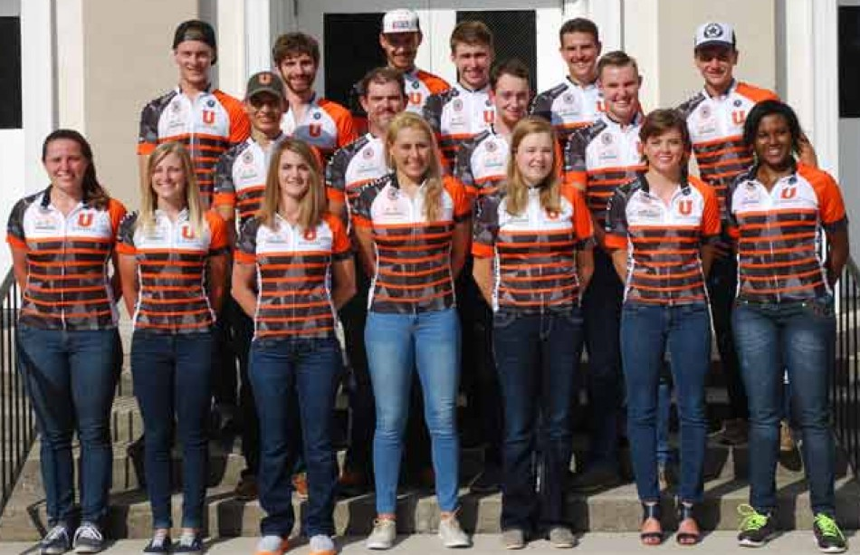 2016-17 Cycling Team Photo